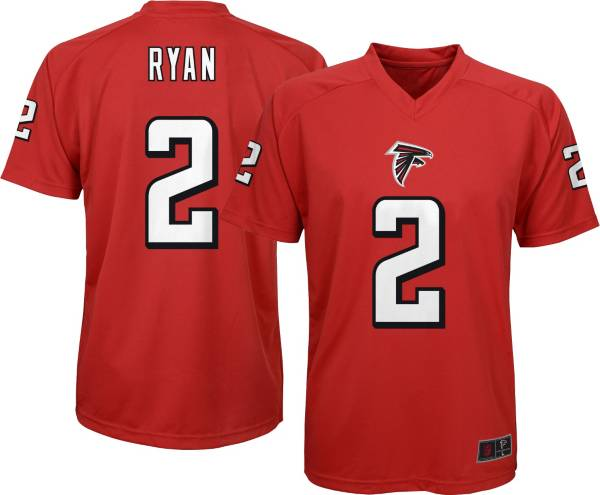 NFL Team Apparel Youth Atlanta Falcons Matt Ryan #2 Red T-Shirt product image