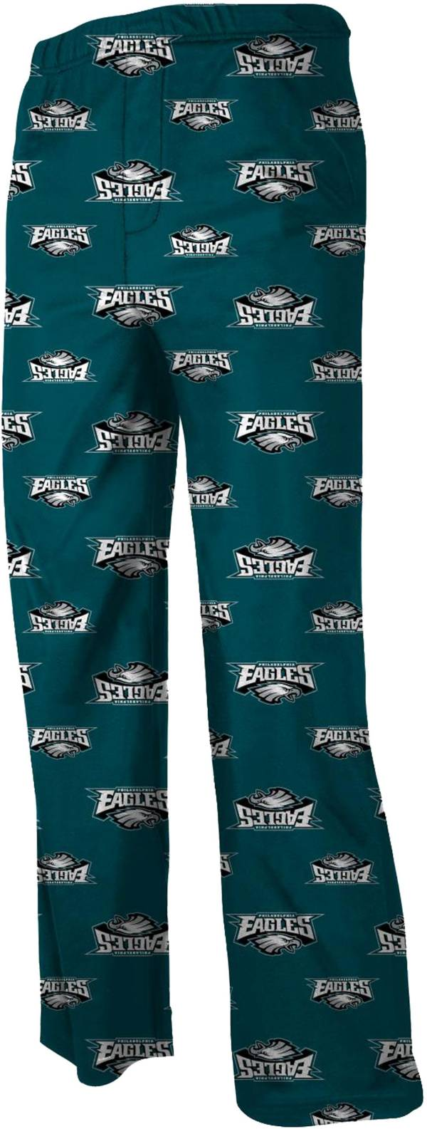 NFL Team Apparel Youth Philadelphia Eagles Jersey Green Print Pants product image