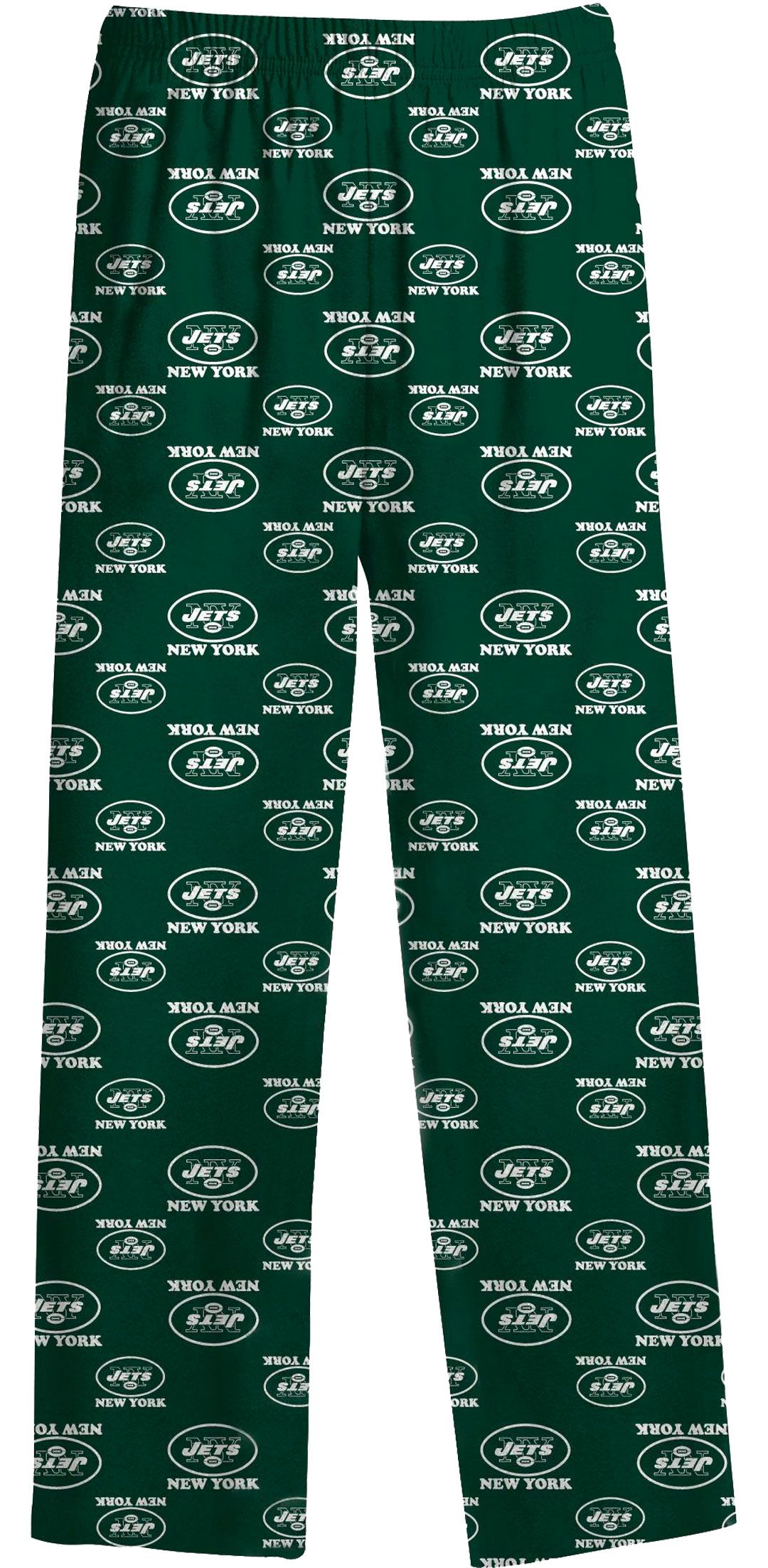 d9bc241b NFL Team Apparel Youth New York Jets Team Print Green Jersey Pants