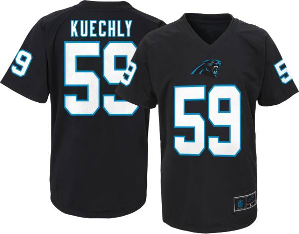 NFL Team Apparel Youth Carolina Panthers Luke Kuechly #59 Black T-Shirt product image