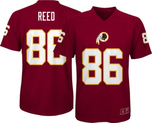 NFL Team Apparel Youth Washington Redskins Jordan Reed  86 Red T-Shirt.  noImageFound. Previous eba058fe7