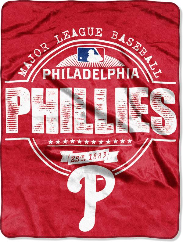 Northwest Philadelphia Phillies Structure Micro Raschel Throw Blanket product image