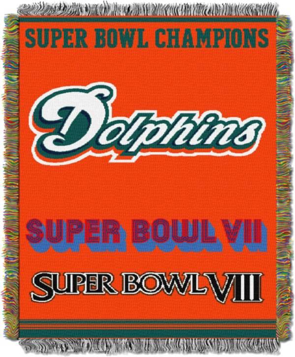 Northwest Miami Dolphins Commemorative Blanket product image