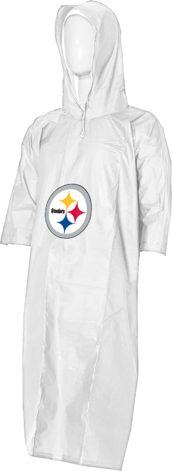 Northwest Pittsburgh Steelers Clear Poncho product image