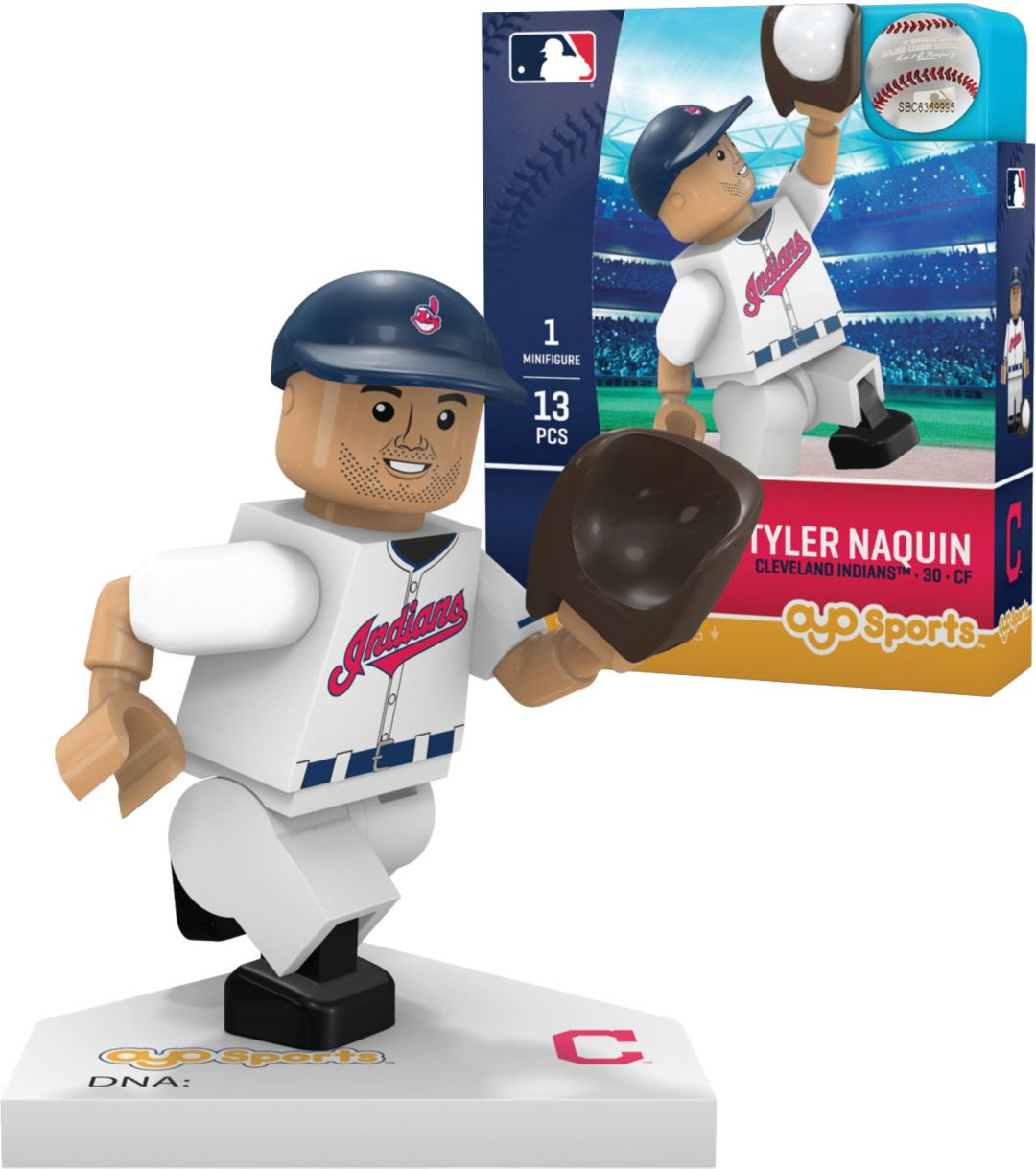 reputable site 1e5d8 1698c OYO Cleveland Indians Tyler Naquin Figurine
