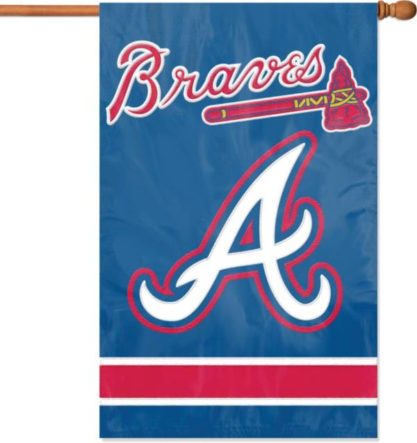 Party Animal Atlanta Braves Applique Banner Flag product image