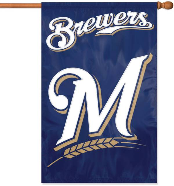 Party Animal Milwaukee Brewers Applique Banner Flag product image