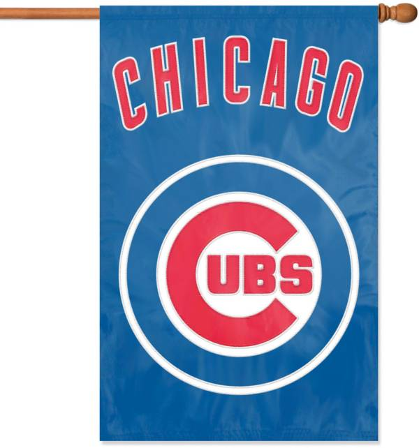 Party Animal Chicago Cubs Applique Banner Flag product image