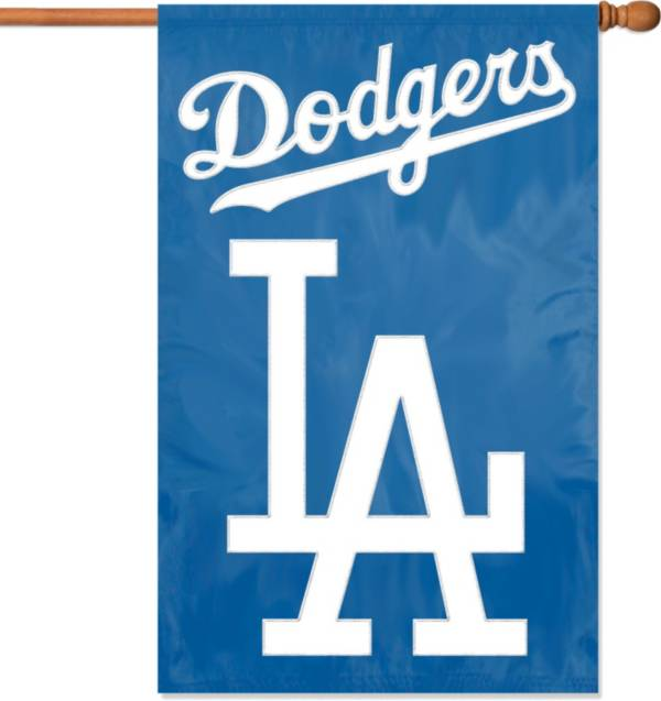 Party Animal Los Angeles Dodgers Applique Banner Flag product image