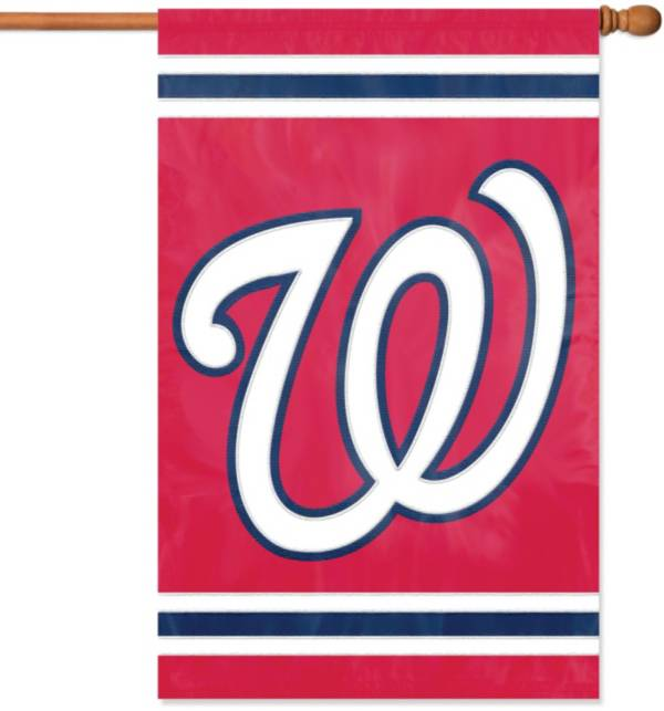 Party Animal Washington Nationals Applique Banner Flag product image