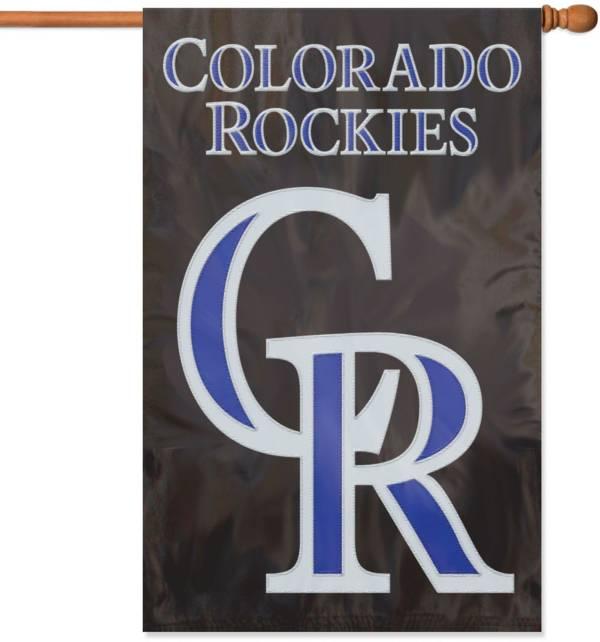 Party Animal Colorado Rockies Applique Banner Flag product image