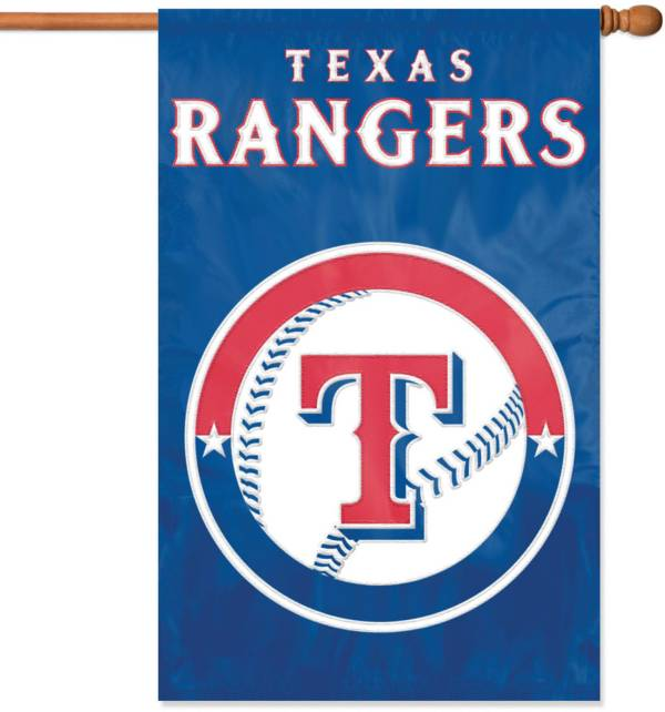 Party Animal Texas Rangers Applique Banner Flag product image