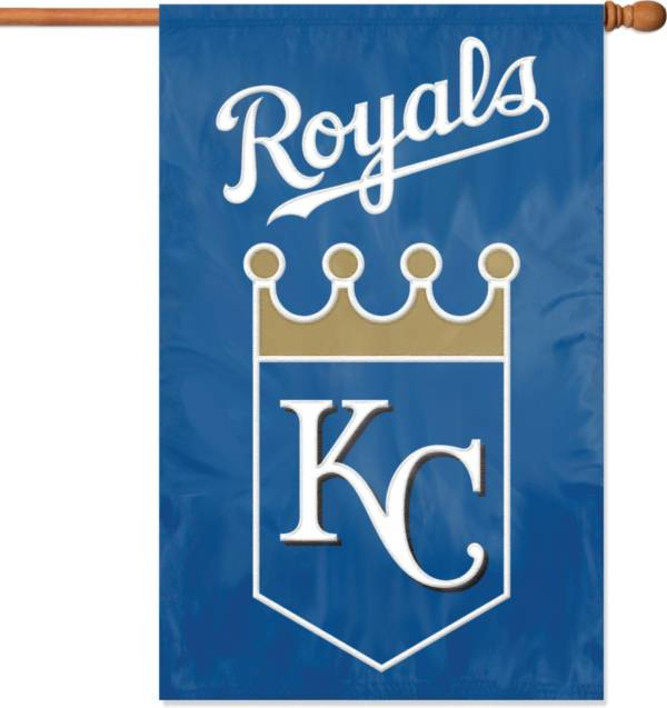Party Animal Kansas City Royals Applique Banner Flag product image