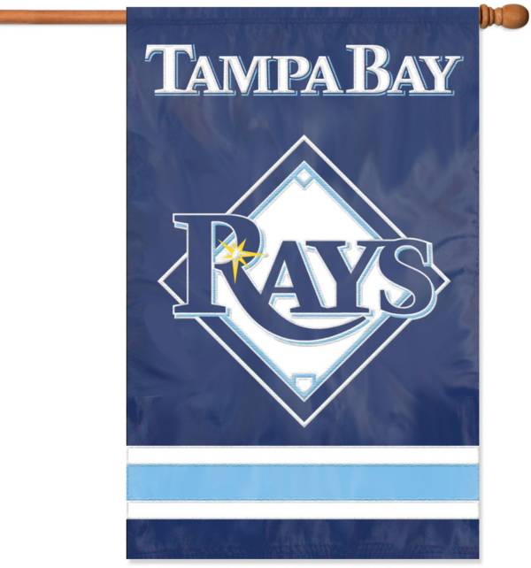 Party Animal Tampa Bay Rays Applique Banner Flag product image