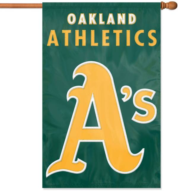 Party Animal Oakland Athletics Applique Banner Flag product image