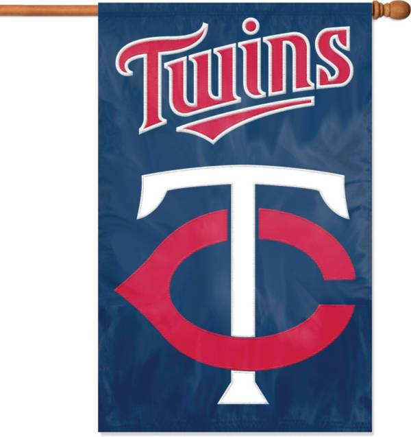 Party Animal Minnesota Twins Applique Banner Flag product image