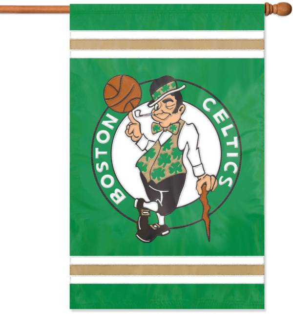 Party Animal Boston Celtics Applique Banner Flag product image