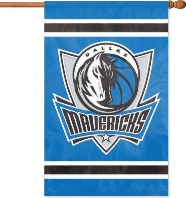 Party Animal Dallas Mavericks Applique Banner Flag product image