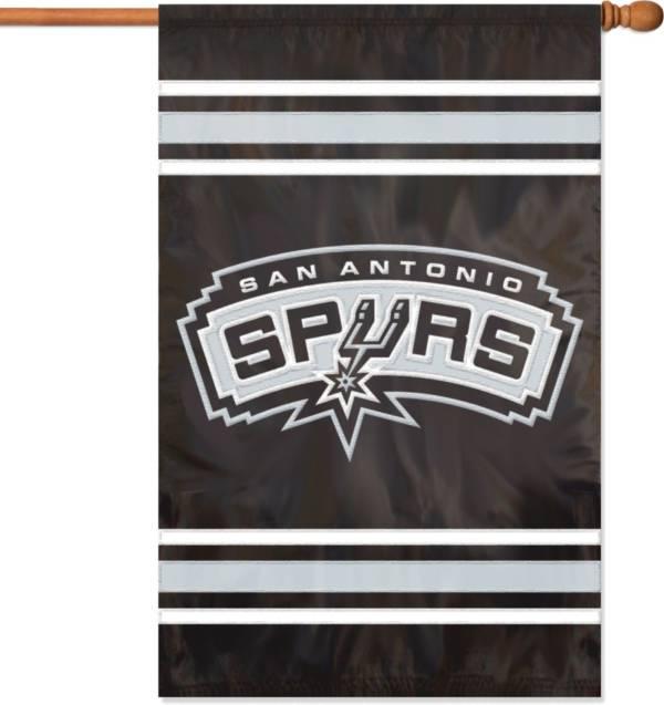 Party Animal San Antonio Spurs Applique Banner Flag product image