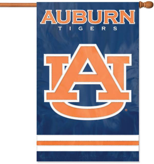 Party Animal Auburn Tigers Applique Banner Flag product image