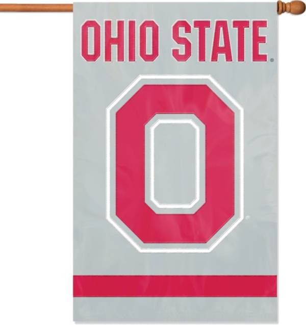 Party Animal Ohio State Buckeyes Applique Banner Flag product image