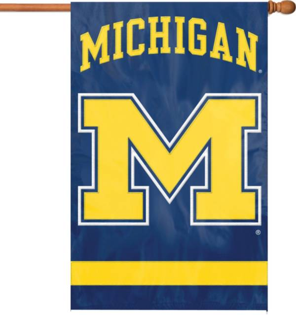 Party Animal Michigan Wolverines Applique Banner Flag product image