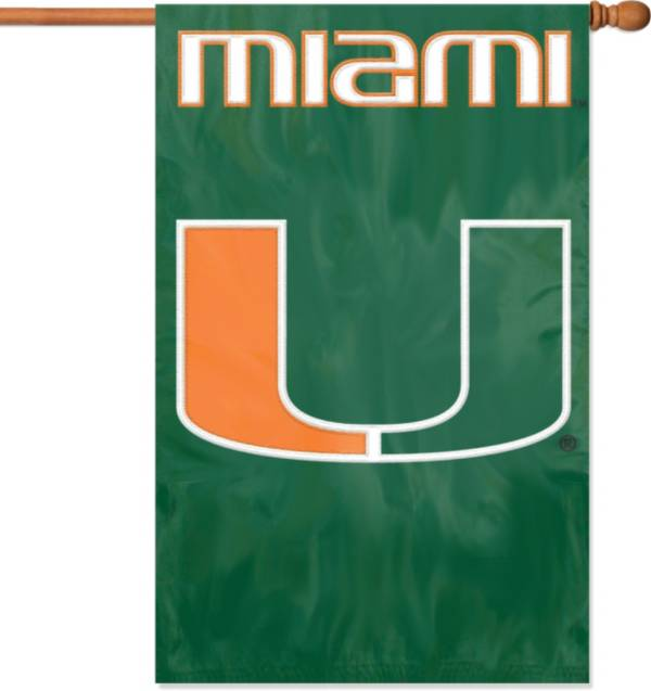 Party Animal Miami Hurricanes House Flag product image