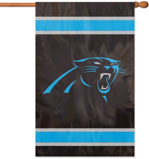 Party Animal Carolina Panthers Applique Banner Flag product image