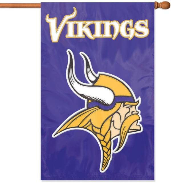Party Animal Minnesota Vikings Applique Banner Flag product image