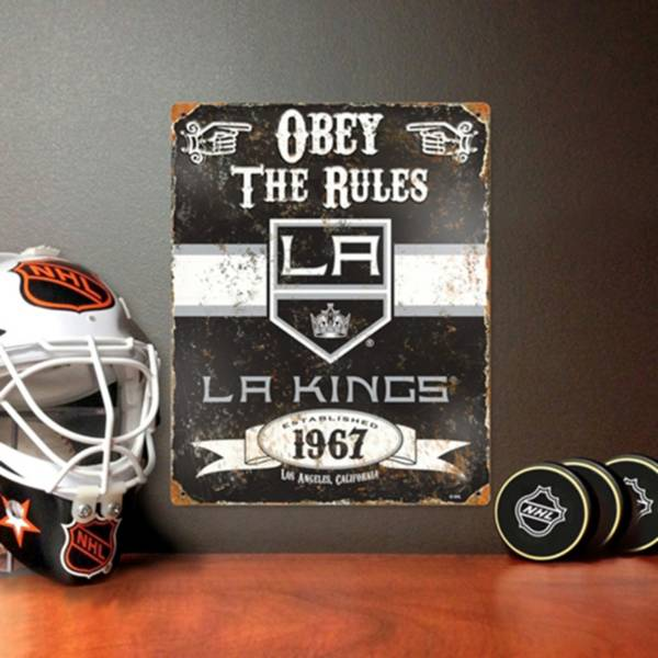 Party Animal Los Angeles Kings Embossed Metal Sign product image