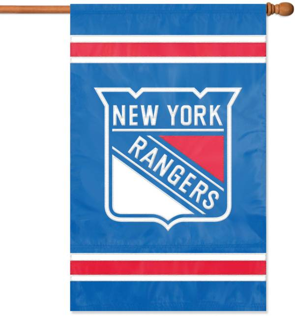 Party Animal New York Rangers Applique Banner Flag product image