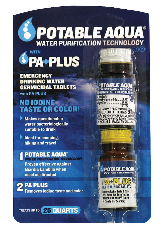 Awe Inspiring Potable Aqua Plus Water Purification Tablets Home Interior And Landscaping Ologienasavecom