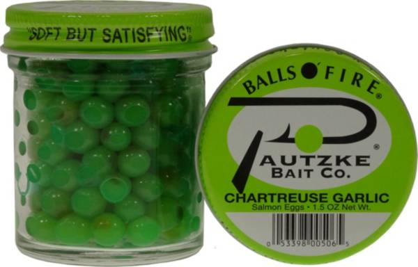 Pautzke Balls O' Fire Chartreuse Garlic Salmon Eggs product image