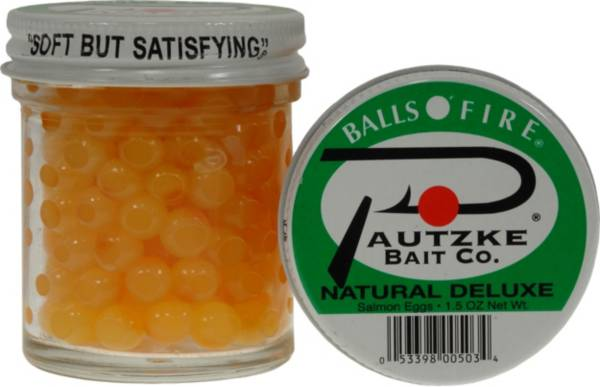Pautzke Balls O' Fire Natural Deluxe Salmon Eggs product image