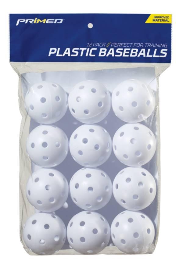 PRIMED Plastic Training Baseballs - 12 Pack product image