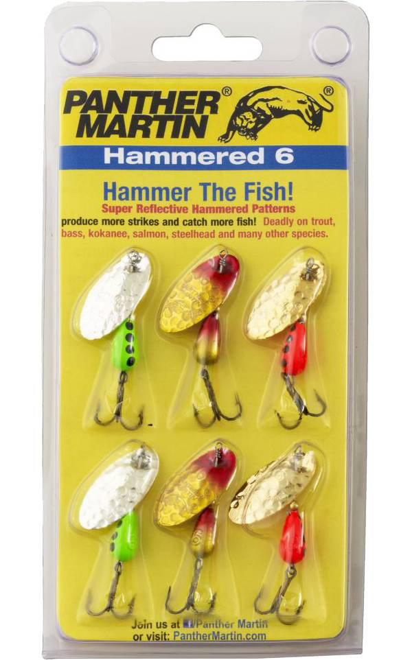 Panther Martin Hammered 6-Pack Spinnerbait Kit product image