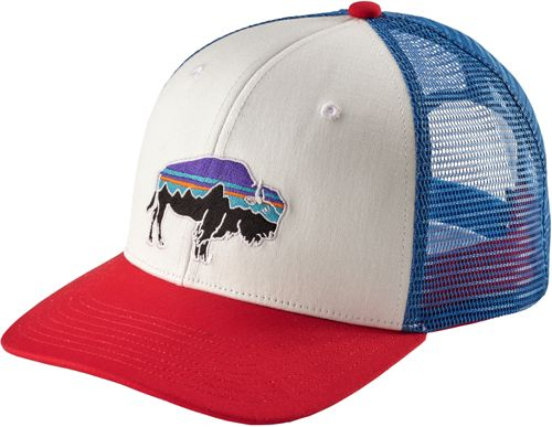 d77c25ec ... best patagonia mens fitz roy bison trucker hat dicks sporting goods  a8e75 0bcaf