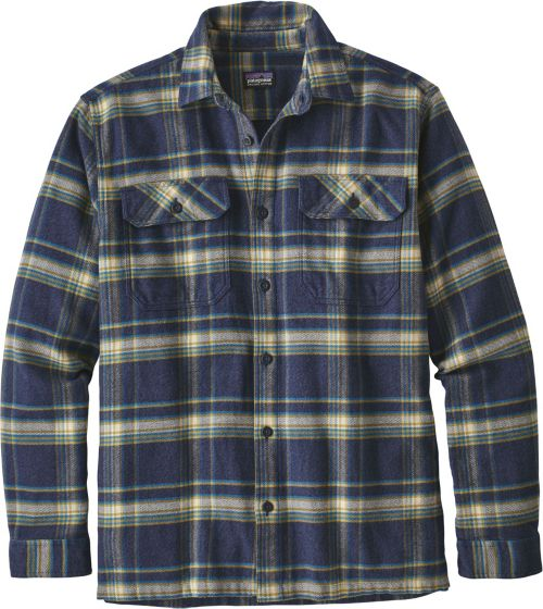 77149209b65 Patagonia Men s Fjord Flannel Button Up Long Sleeve Shirt. noImageFound. 1