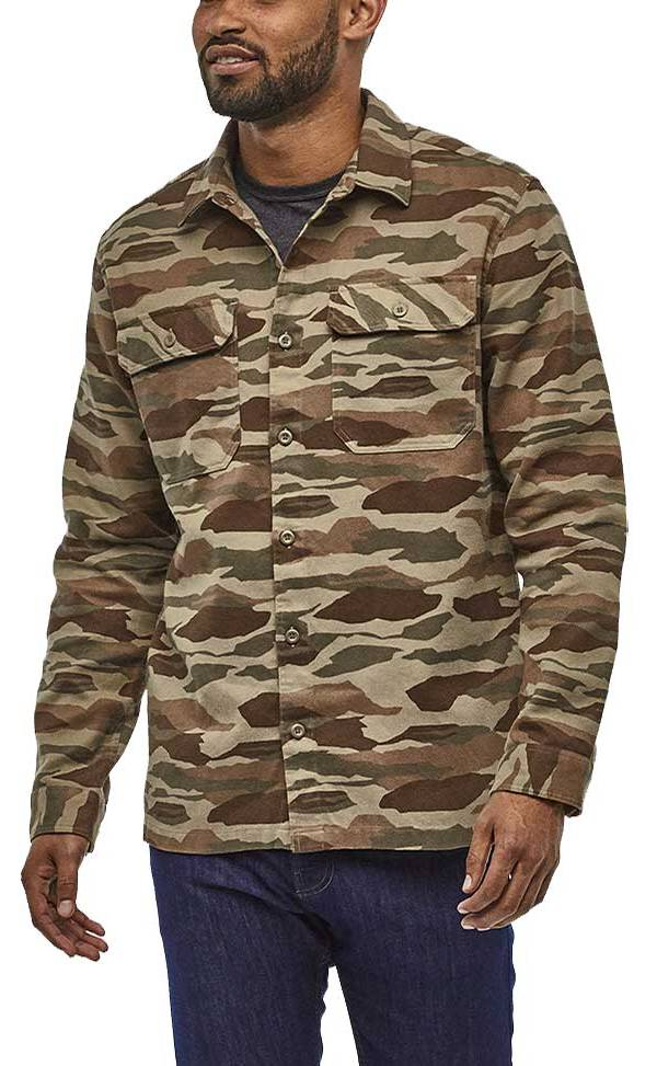 Patagonia Men's Fjord Flannel Button Up Long Sleeve Shirt product image