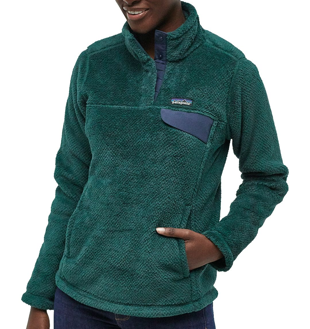 Patagonia Women's Re-Tool Snap-T Fleece Pullover 1