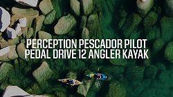Perception Pescador Pilot Pedal Drive 12 0 Angler Kayak
