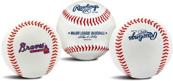 Rawlings Atlanta Braves Logo Baseball product image