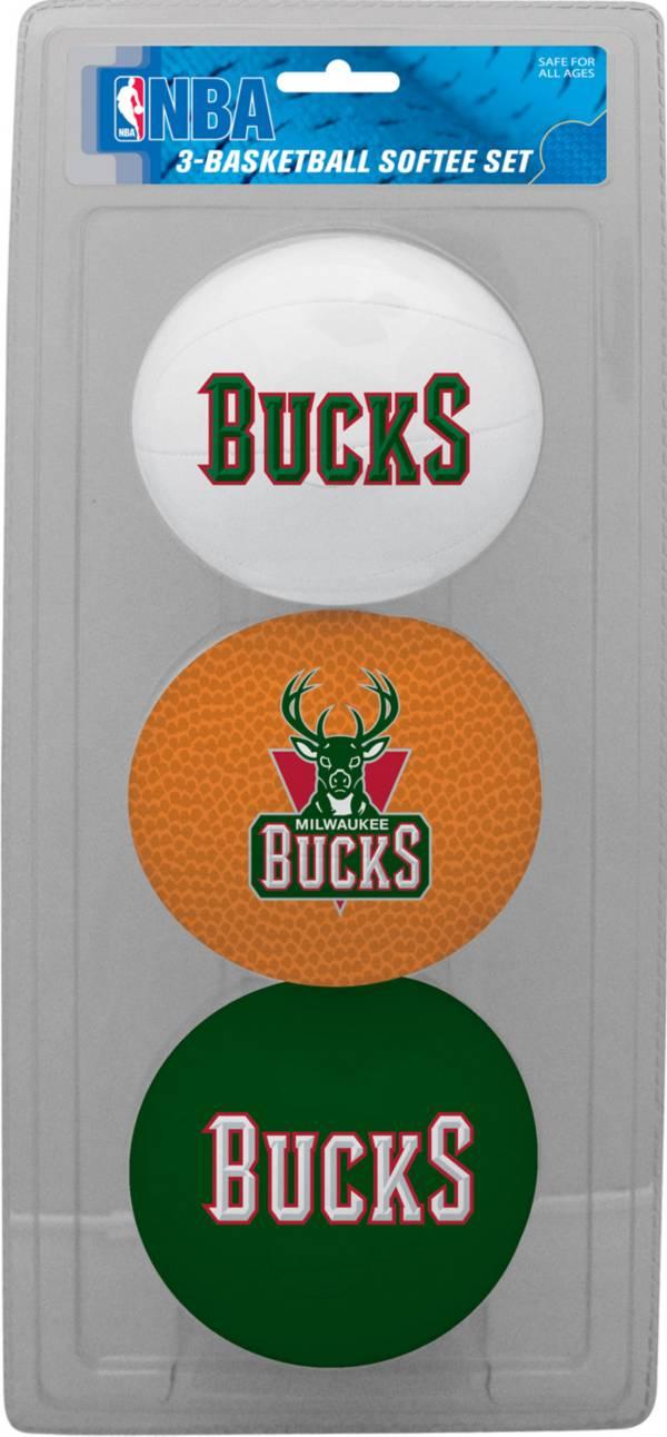 Rawlings Milwaukee Bucks Softee Basketball Three-Ball Set product image