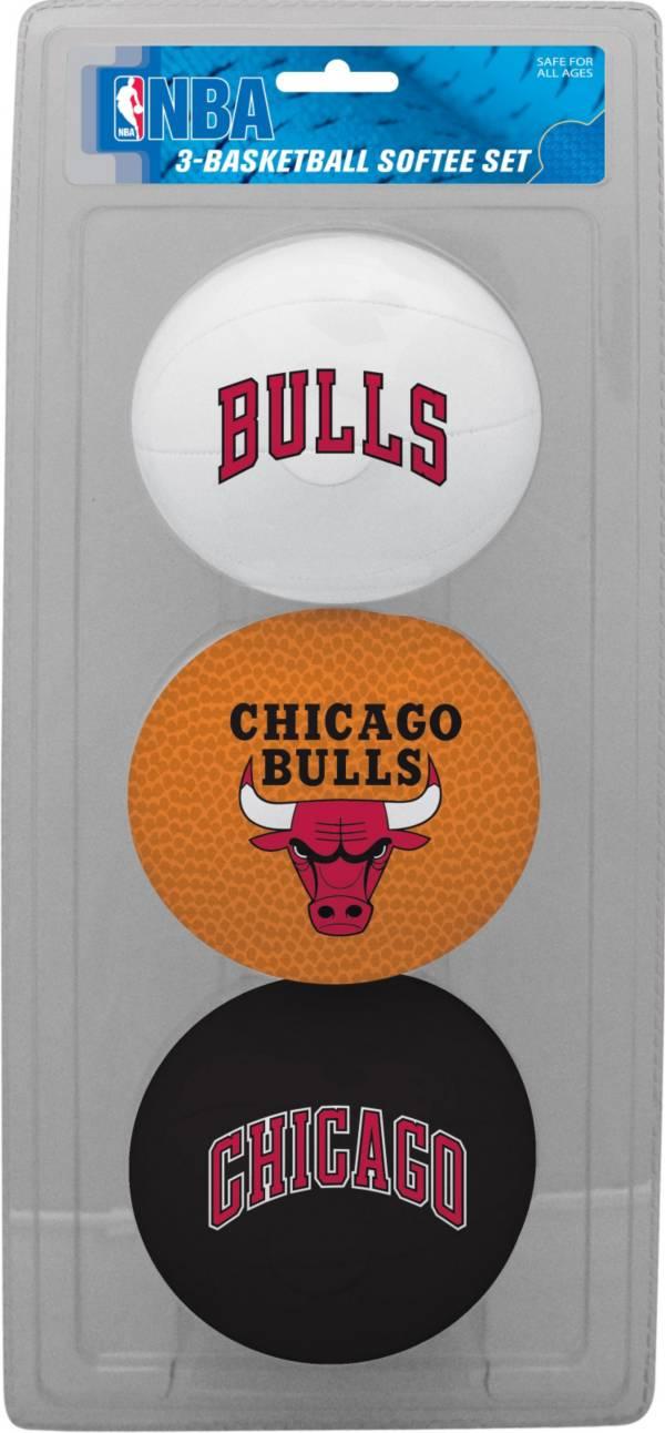 Rawlings Chicago Bulls Softee Basketball Three-Ball Set product image