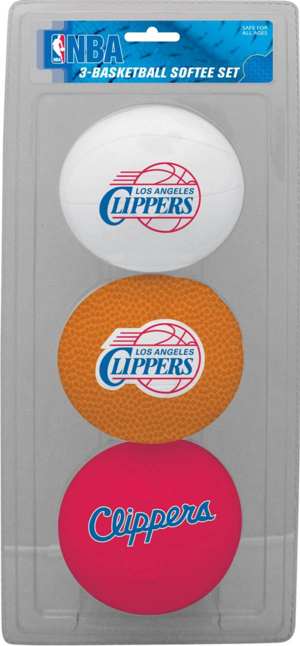 Rawlings Los Angeles Clippers Softee Basketball Three-Ball Set product image