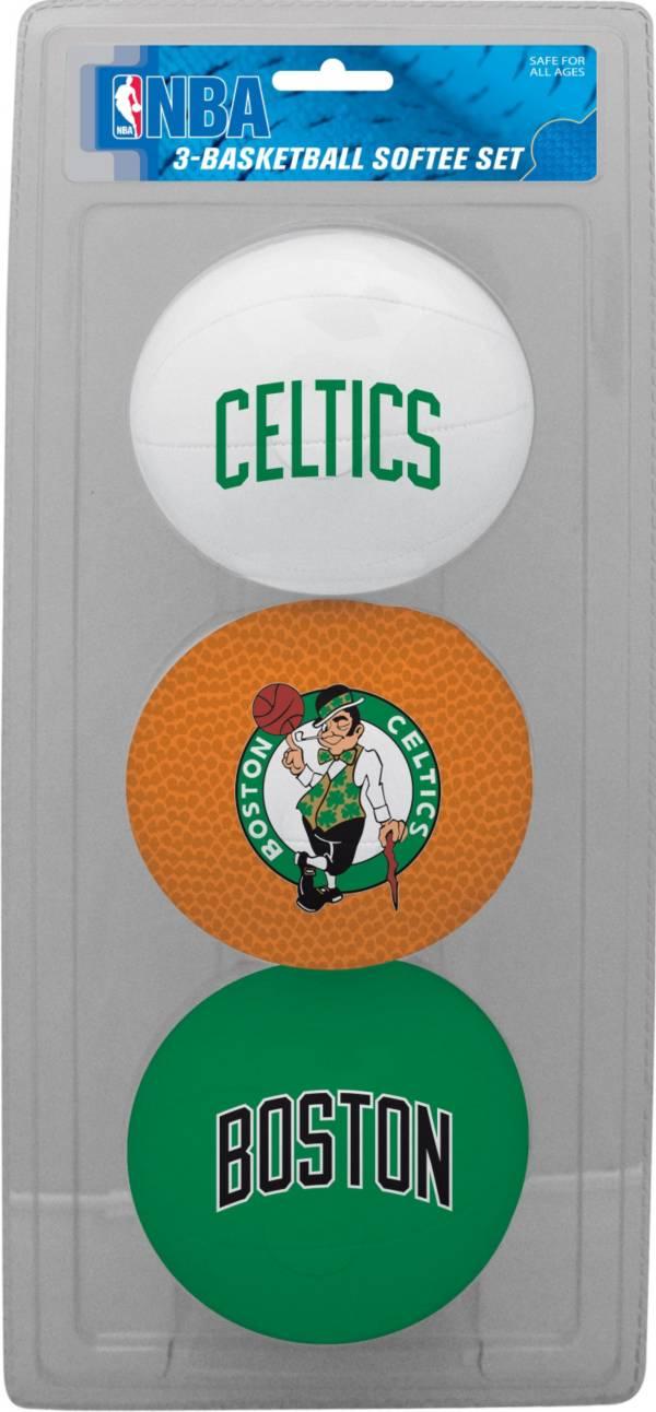 Rawlings Boston Celtics Softee Basketball Three-Ball Set product image