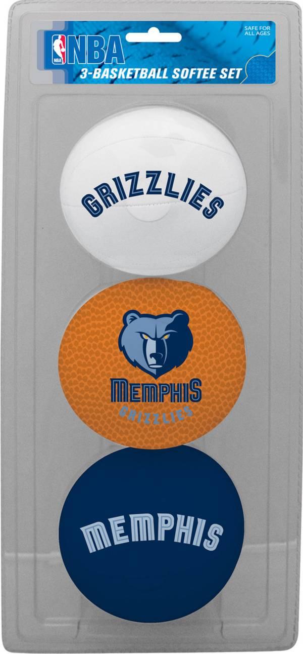 Rawlings Memphis Grizzlies Softee Basketball Three-Ball Set product image