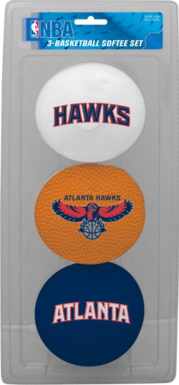 Rawlings Atlanta Hawks Softee Basketball-Three Ball Set product image
