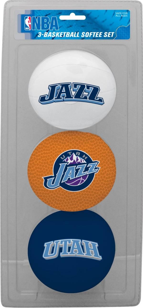 Rawlings Utah Jazz Softee Basketball Three-Ball Set product image