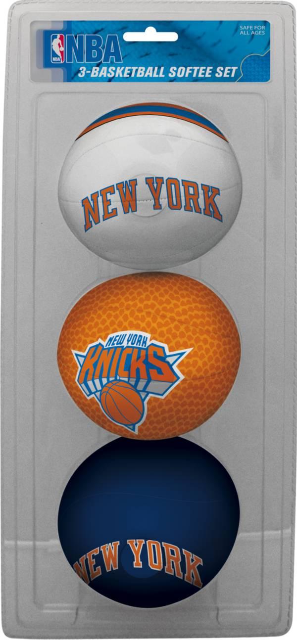 Rawlings New York Knicks Softee Basketball Three-Ball Set product image